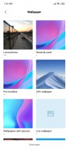 Live wallpapers - Xiaomi Mi 9 review