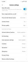 The camera app - Xiaomi Mi 9 review