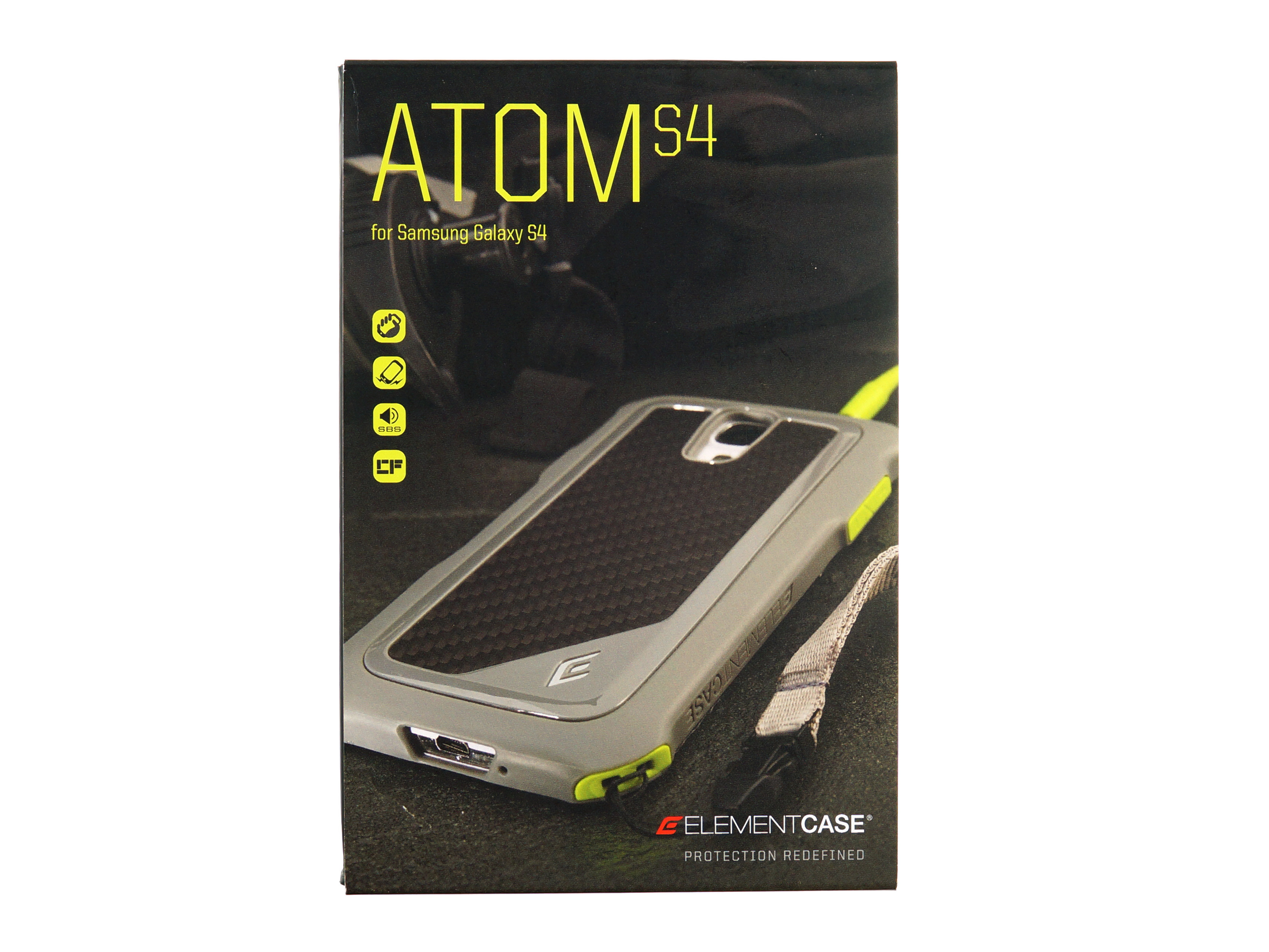 best loved a187d f78f2 Element Case Atom and Eclipse cases for Samsung Galaxy S4 hands-on ...