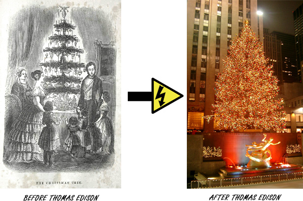 When Were The First Electric Christmas Lights Used.Christmas Lights Origins An Electrifying Christmas Story