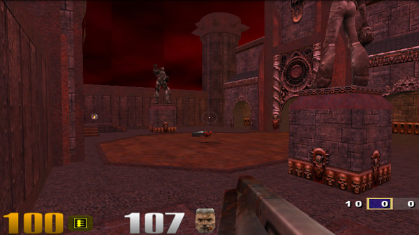 DROID does: Quake 3  Also Quake 2  And they're available for