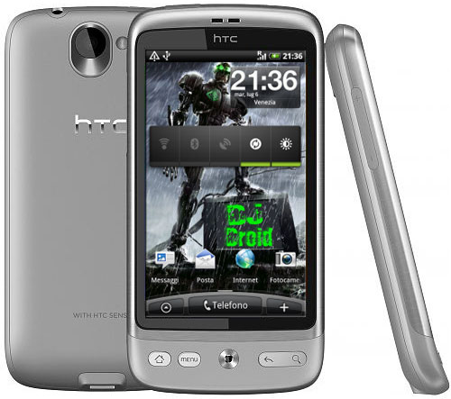 Custom firmware puts Android 2 2 Froyo on the HTC Desire, adds 720p