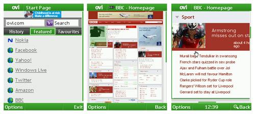 Nokia Beta Labs update Ovi Browser beta, improve rendering