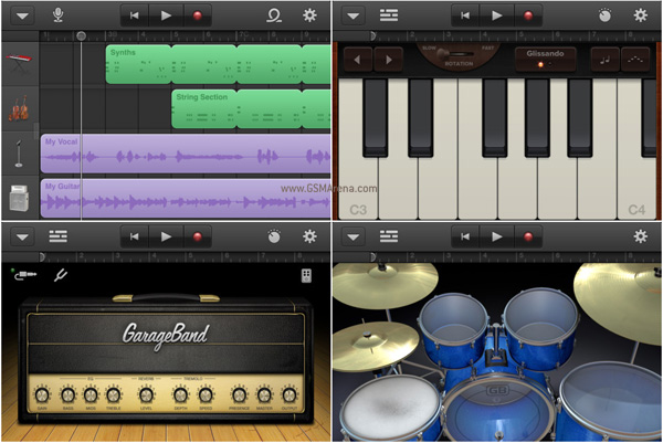 Apple releases GarageBand for iPhone and iPod touch, makes