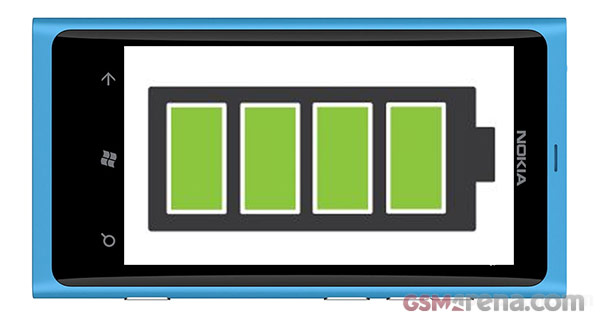 Nokia Lumia 800: Update for longer battery life