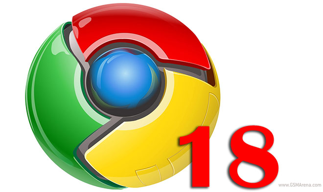 Google Chrome 18 released with extended GPU acceleration