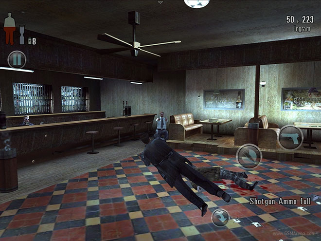 Max Payne Mobile Now Available On The App Store