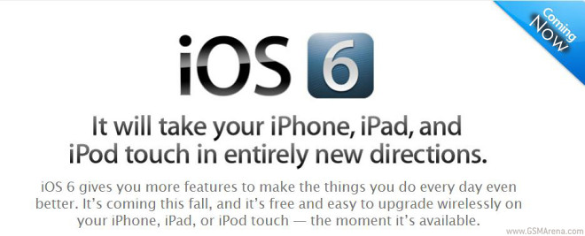 iOS 6 beta download links now available, you can try it if you want
