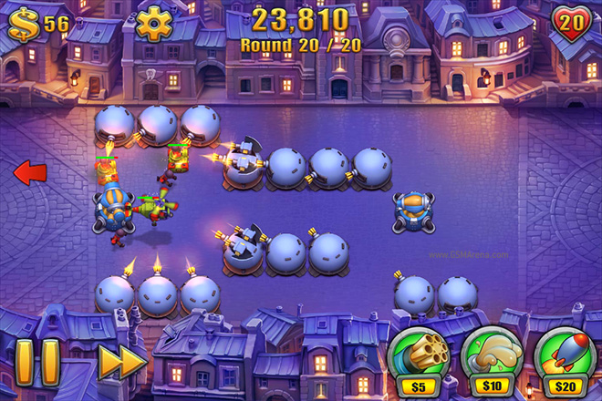 Fieldrunners 2? for iOS game review