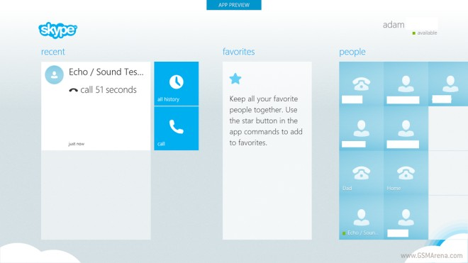 """Windows 8 version of Skype leaked, shows off its """"Modern"""
