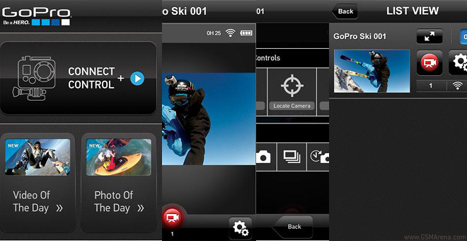 GoPro releases iOS app, lets you remote control your HD HERO2