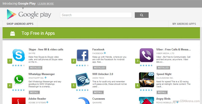 Google Play Store Has Now 700,000 Applications