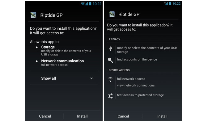 New security feature in Android 4 2 checks sideloaded apps for malware