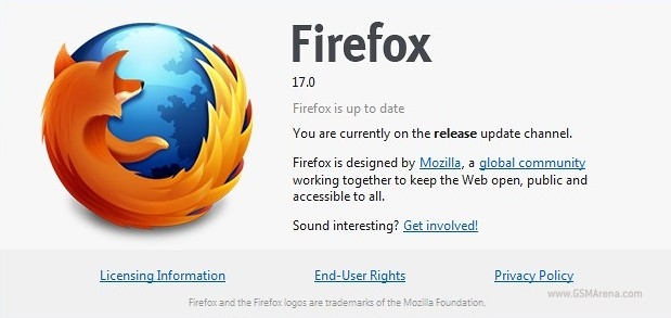 Final Firefox 17 for Windows, Mac and Linux is out today