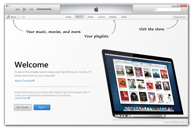 Go download the revampled iTunes 11 for Mac and Windows