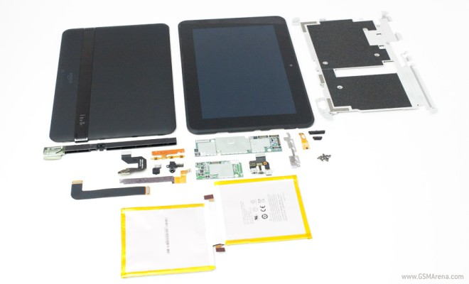 Amazon Kindle Fire HD 8 9 gets gutted, reveals Samsung-made internals