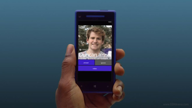 Skype for windows phone 8. 1 easily jumps from voice to video and.