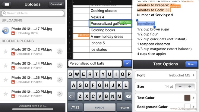 Google Drive for iOS is now integrated with QuickOffice
