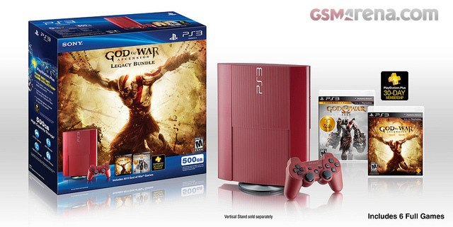 Sony announced God of War: Ascension Legacy PS3 bundle