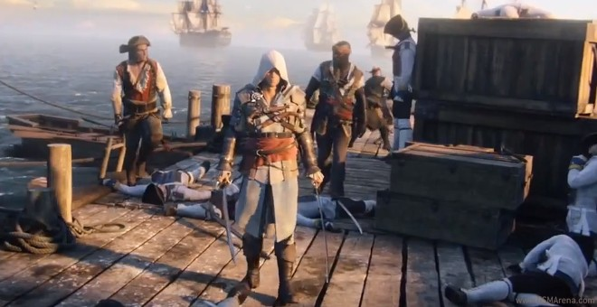 The Trailer For Assassin S Creed Iv Black Flag Premieres A Little