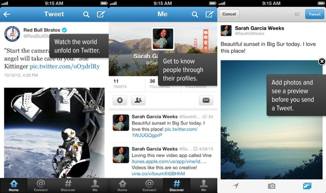Twitter for iOS and Android updated with new UI changes