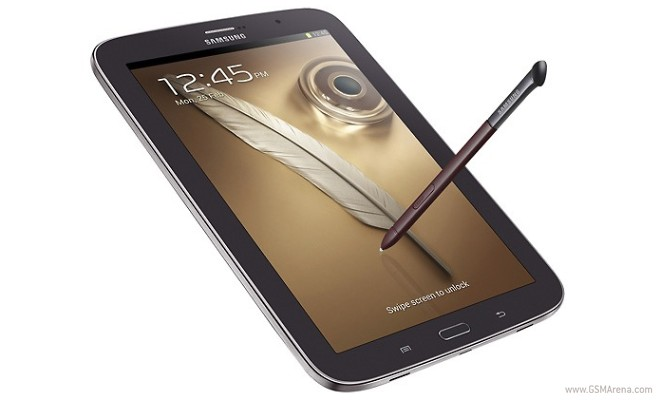 Brown Samsung Galaxy Note 8 0 is official, US to get first dibs
