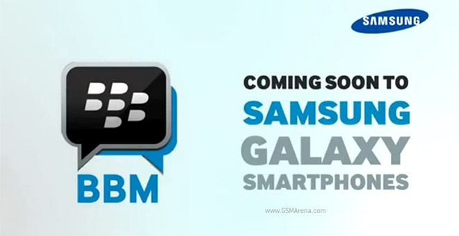 blackberry messenger samsung galaxy young