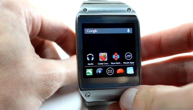 Samsung Galaxy Gear can be tweaked to run proper Android apps