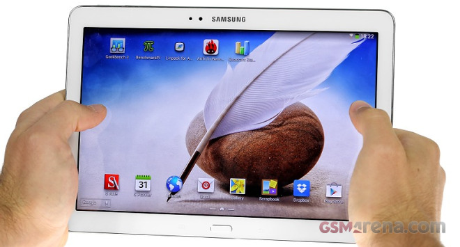 Samsung Galaxy Note 10 1 2014 Edition hands-on