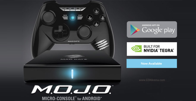Mad Catz M O J O  Android-powered console now available