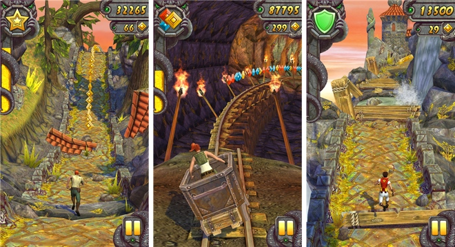 Temple run scores 1 billion downloads