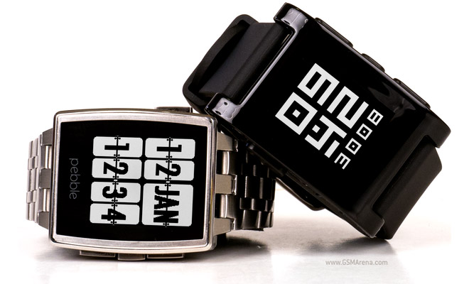 Pebble Unveils its New Smart Watch!