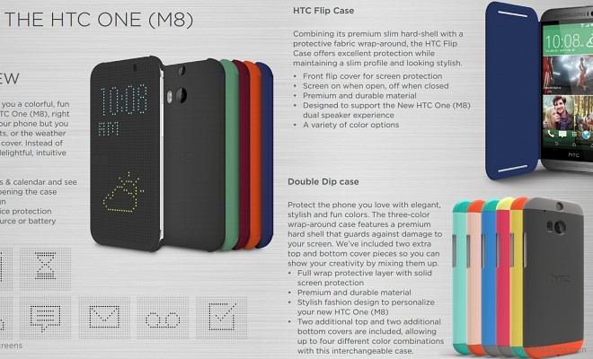 Take A Look At The Htc One M8 Accessories