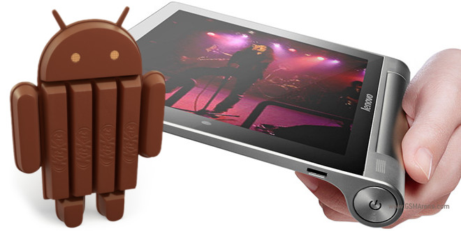 Lenovo Yoga Tablets get the Android 4 4 KitKat treatment