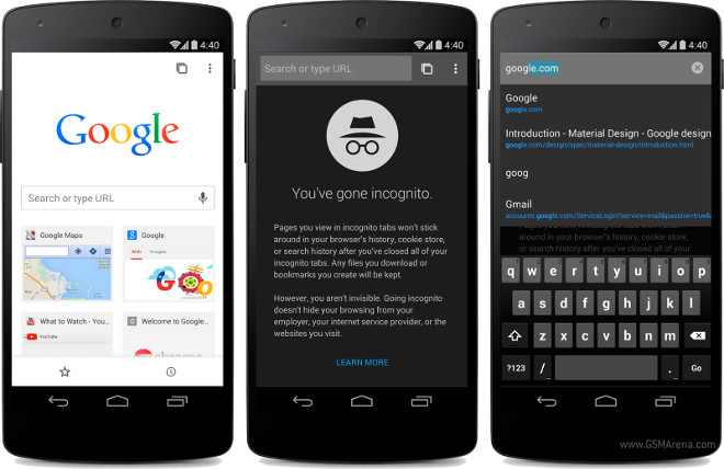 Chrome Beta for Android gets Material Design, auto sign-in