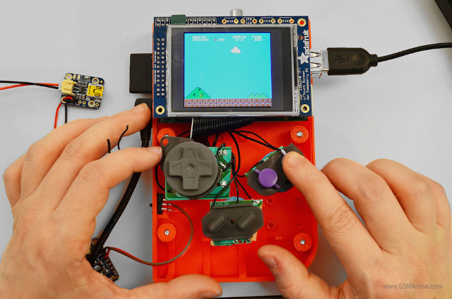 Make Your Own Game Boy With A Raspberry Pi And 3d Printer