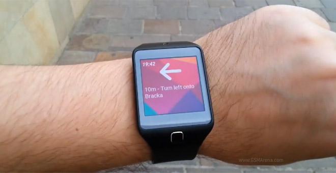 D M A Navi Watch App For Galaxy Gear Puts Google Maps Navigation