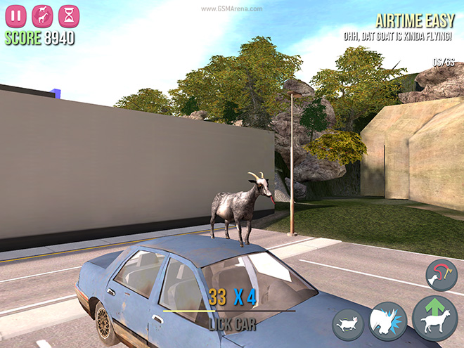 Goat Simulator' for iOS and Android game review