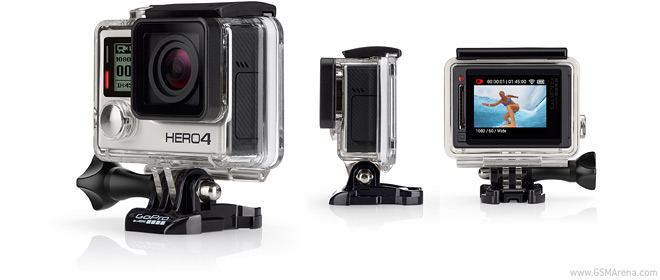 GoPro unveils Hero4 Black and Silver, entry-level Hero