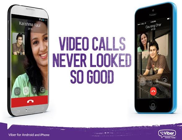 Viber update for Android and iOS brings mobile video calling