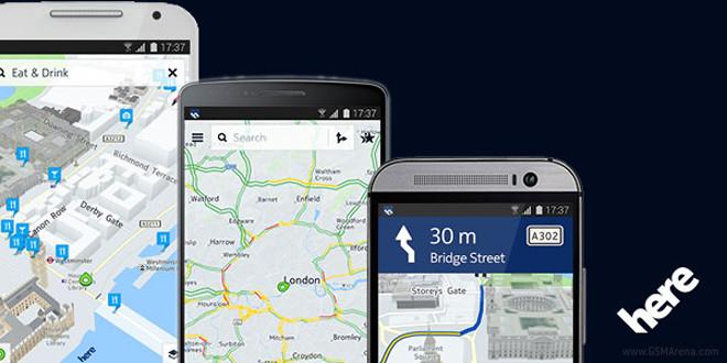 FREE Nokia HERE Maps w/ Live T...