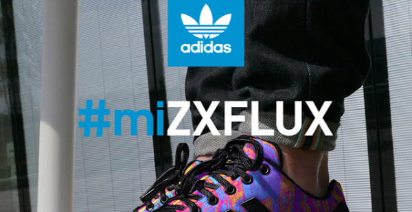 defddf7df3bb Customize your Adidas sneakers with the miZX FLUX app for iOS and Android