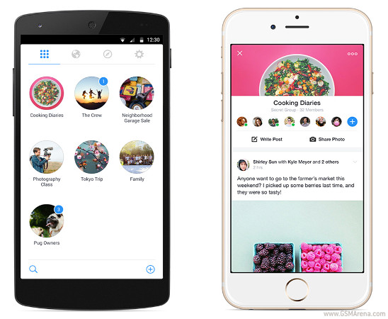 Facebook introduces standalone Groups app for iOS and Android