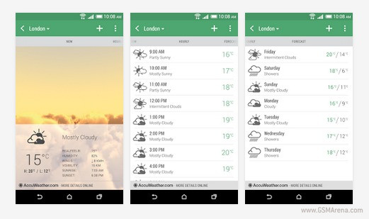 Htc Weather App Makes It To The Play Store