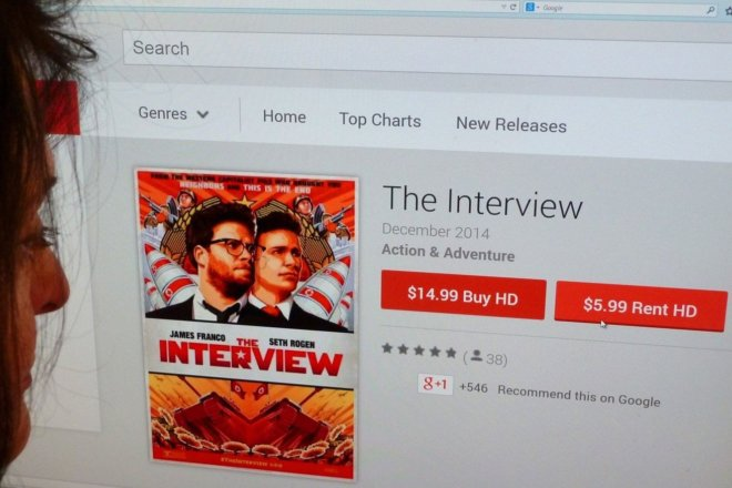 The Interview becomes Sony's no  1 online film of all time