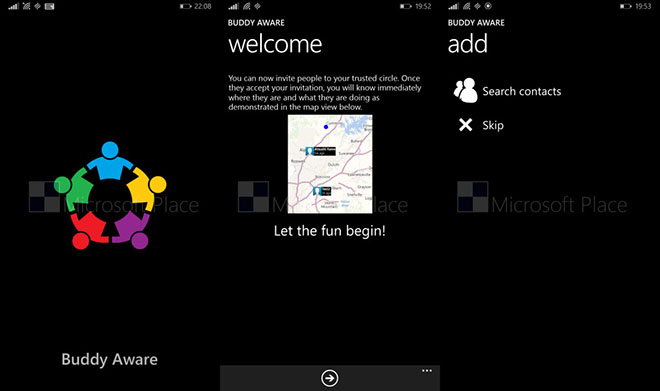Microsoft working on People Sense app friend tracking capability for