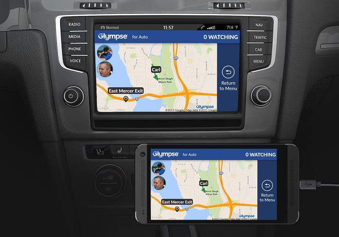 Glympse location sharing app gets more car-friendly with a
