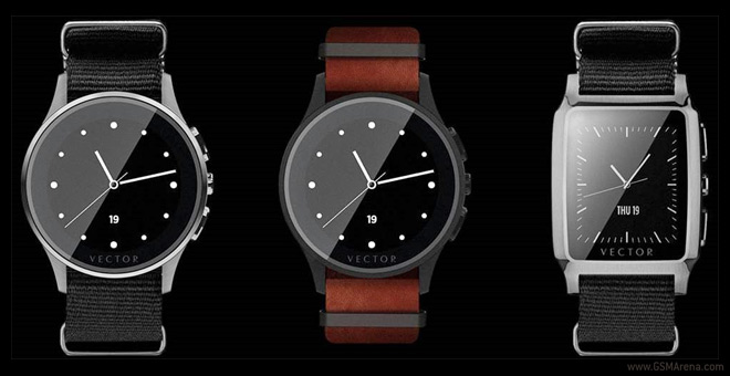 Vector unveils two smartwatches with 30 day battery life 4c5b31f71c