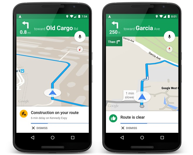 Google Maps for Android now features live traffic alerts and ... on google car route, apple map route, world map route, iphone map route, google maps russia, google plan route, google points of interest, united states map route,
