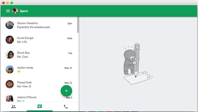 Google updates Hangouts for Chrome